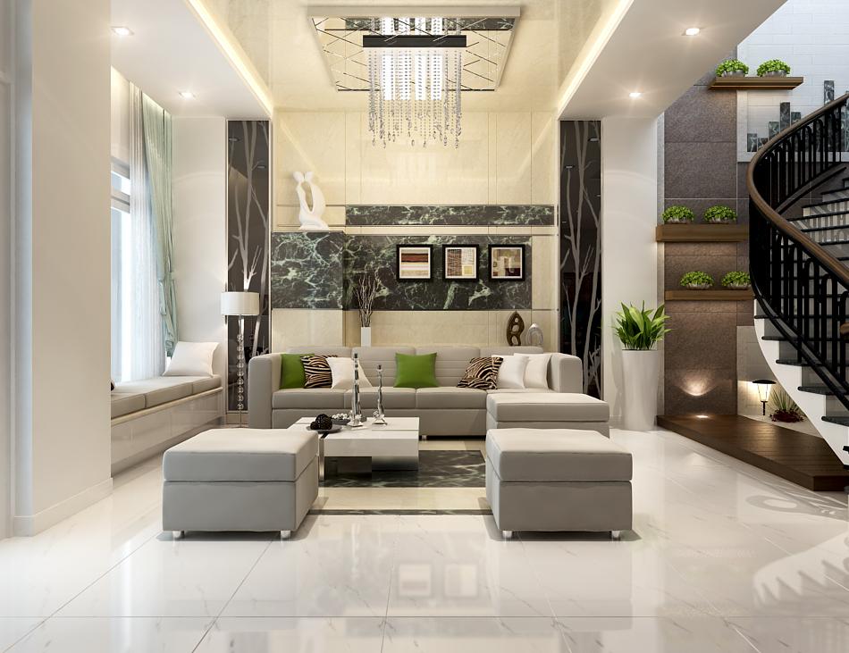 Thiết kế nội thất nhà phố cực đẹp