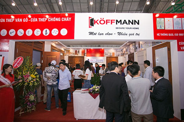 Thế giới cửa thép Koffmann – Nơi cái đẹp, chất lượng dẫn đến thành công