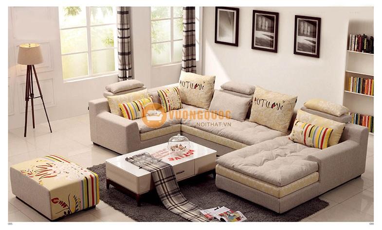 Ghế sofa phòng khách hiện đại thiết kế thanh lịch CSSBY6013
