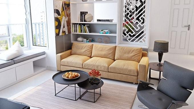 Là bộ bàn ghế sofa phòng khách nhỏ phù hợp nhất