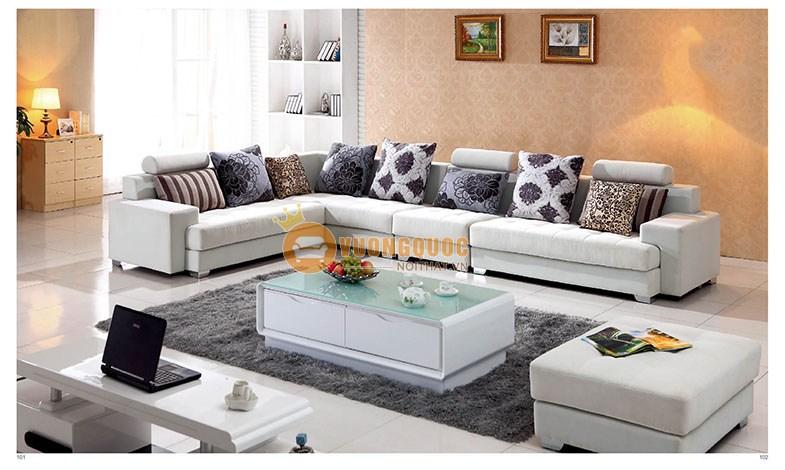 Sofa phòng khách hiện đại hình chữ L SSAS308