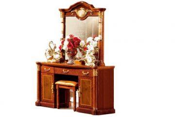 Bộ bàn ghế trang điểm theo phong cách cổ điển GDCDB503B