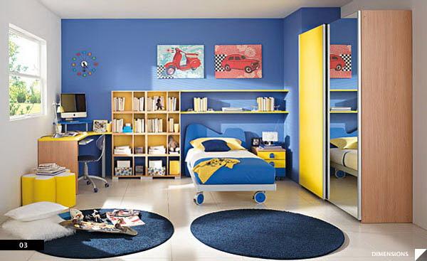 Phòng ngủ cho bé mầm non