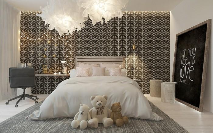 Phòng ngủ đẹp cho nữ hiện đại trẻ trung