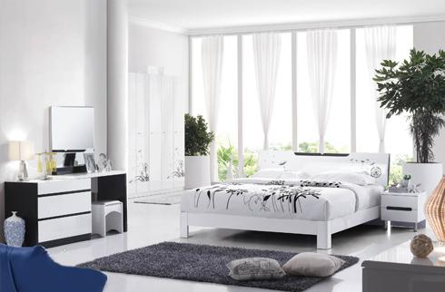Phòng ngủ hiện đại đơn giản đẹp