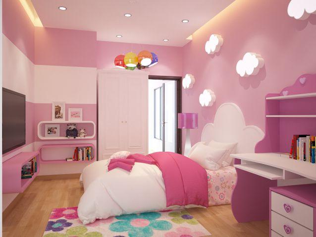 Trang trí căn phòng đầy sắc màu