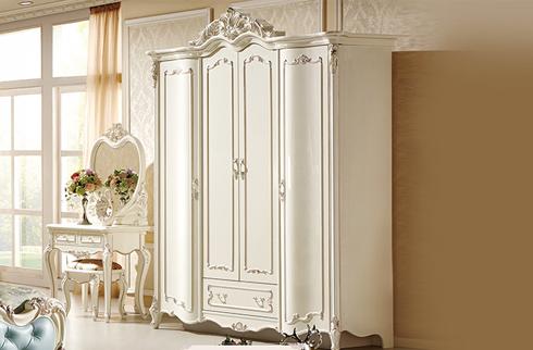 Đặc điểm nổi bật của mẫu tủ quần áo tân cổ điển