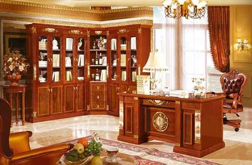 Mẫu bàn làm việc cổ điển phong cách Pháp