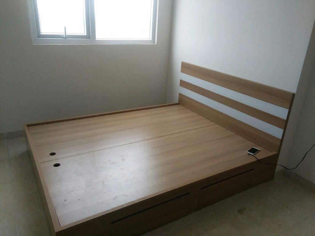 Chọn giường gỗ cần đề cao yếu tố thẩm mỹ và chất lượng