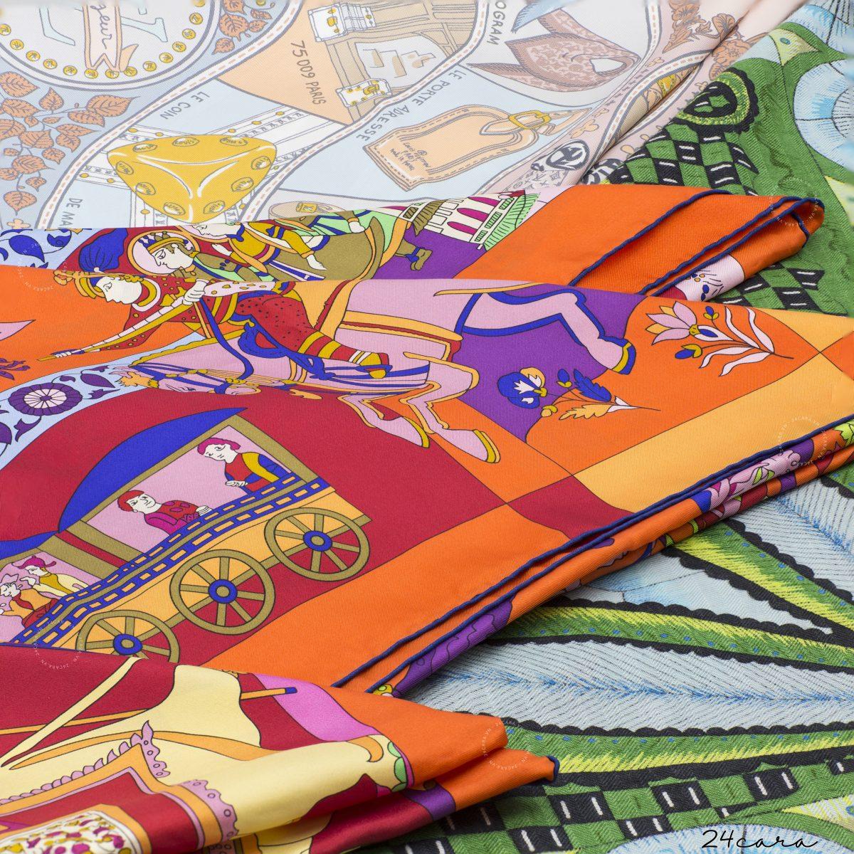 Quá trình ra đời chiếc khăn lụa nổi tiếng của Hermes