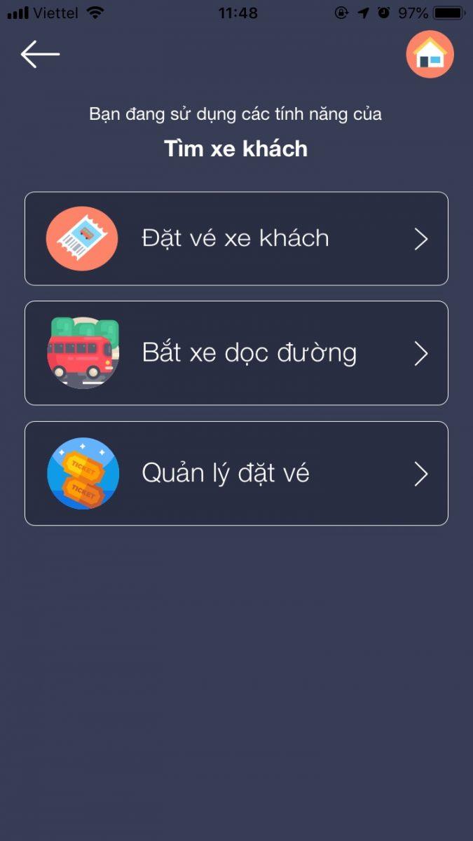 Tìm xe khách Đà Nẵng - Hà Nội cực nhanh với VIHAGO