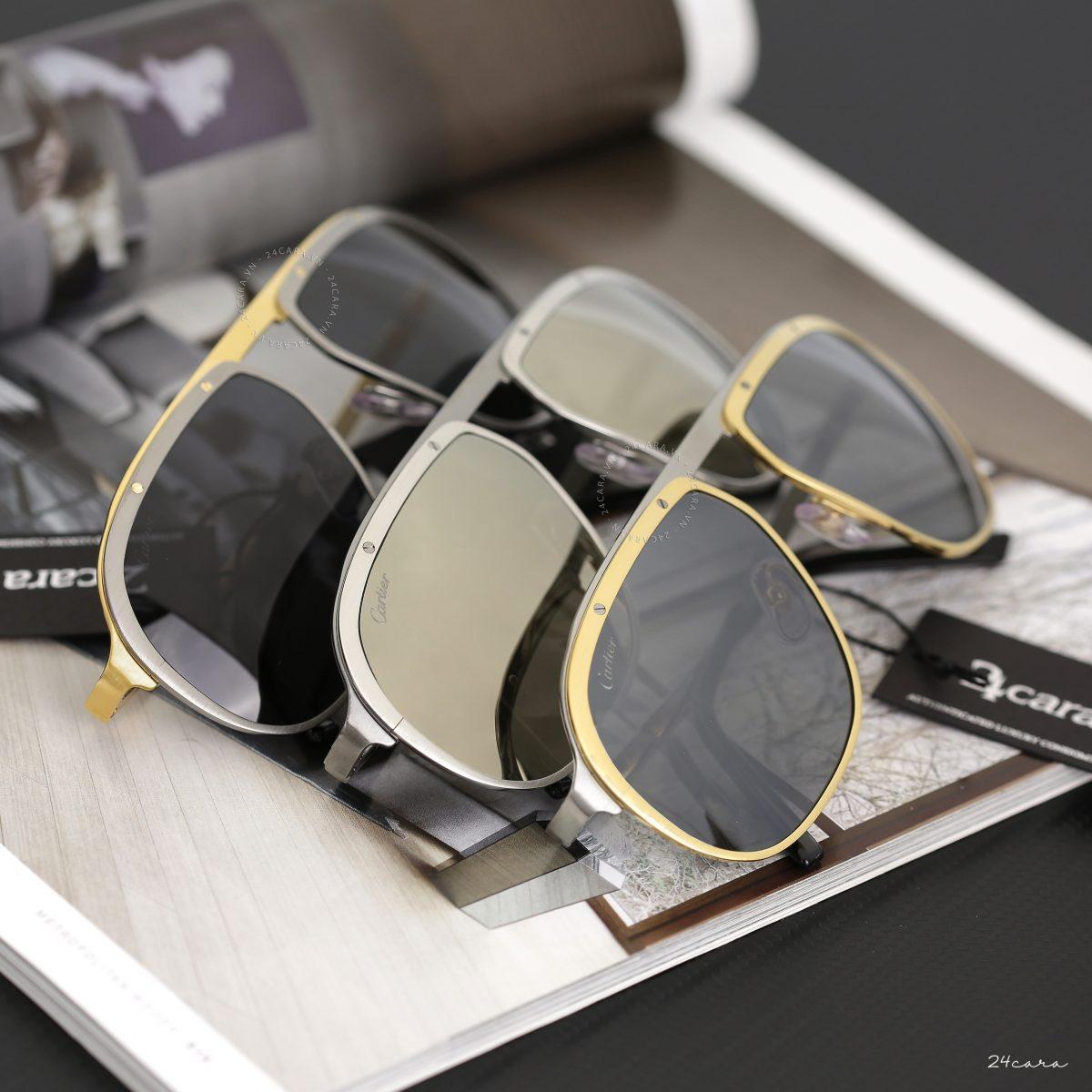 """Cùng ngắm """"nhan sắc"""" của hai mẫu kính Santos de Cartier hot nhất hiện nay"""