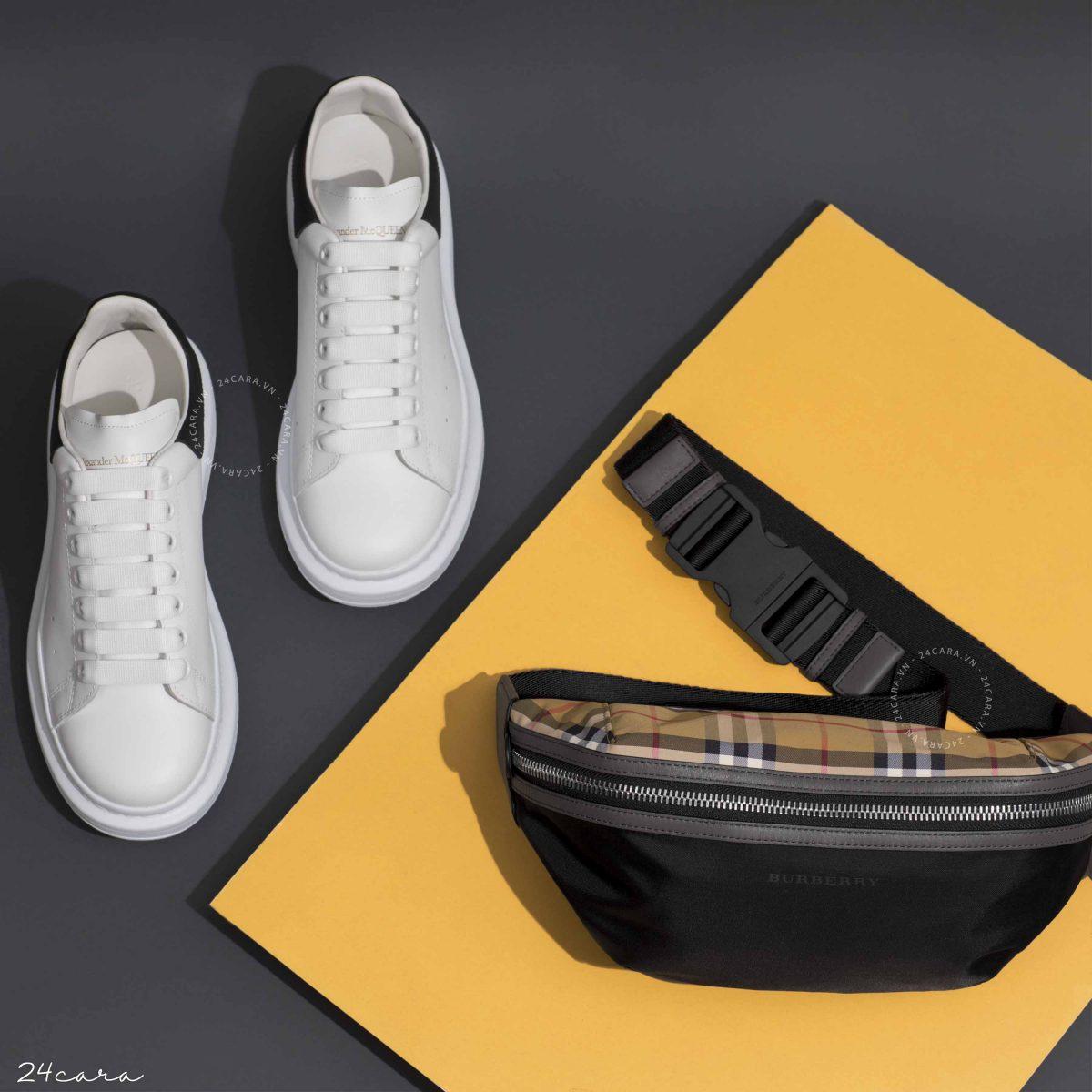 Chiêm ngưỡng đôi giày Sneaker Alexander McQueen cực chất