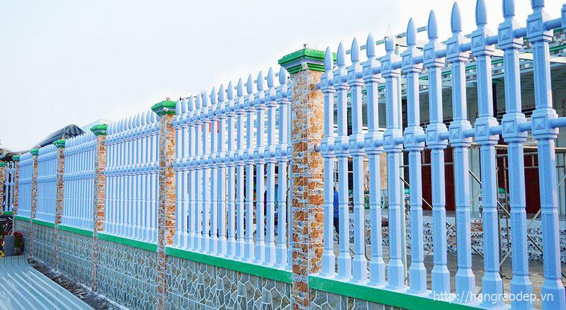 Hàng rào bê tông ly tâm cho khu công nghiệp