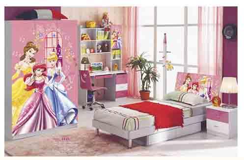 Mẫu phòng ngủ đẹp cho bé gái 12 tuổi