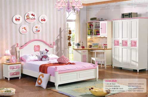 Mẫu phòng ngủ đẹp cho bé gái 13 tuổi