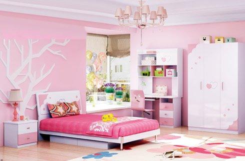 Mẫu phòng ngủ đẹp cho bé gái 15 tuổi