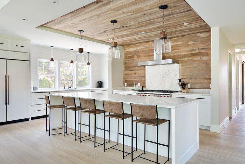 Quầy bar bếp thiết kế đơn giản