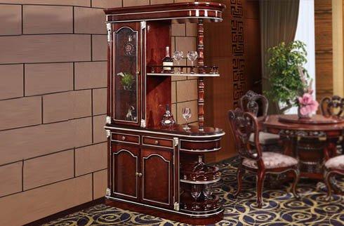 Tủ rượu góc phong cách cổ điển RA803R
