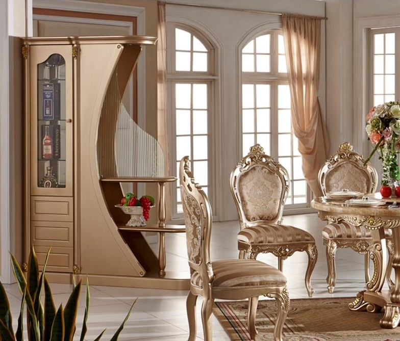 Tủ rượu phòng khách kiểu dáng thanh nhã SCS-FH119