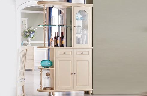 Tủ rượu phòng khách thiết kế hoàn mỹ JYLM030