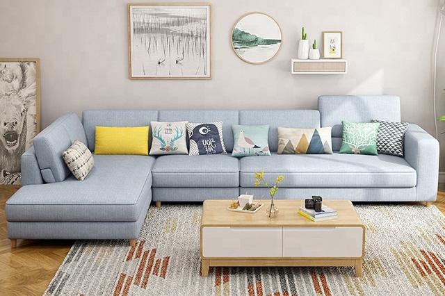 Sofa nỉ mang hơi hướng hiện đại sang trọng